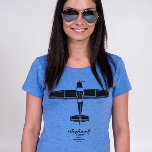 Cessna 172 Skyhawk tričko dámské