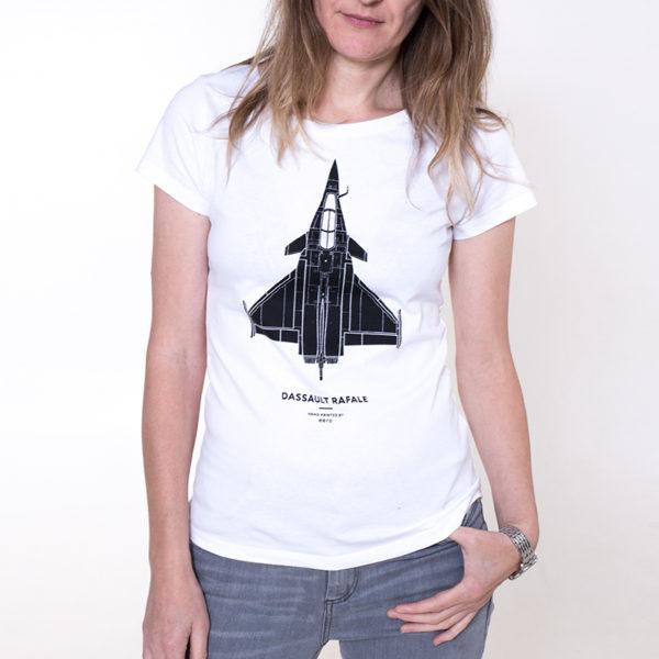 dámské tričko s letadlem Dassault Rafale