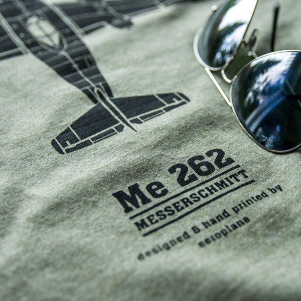 tričko s letadlem Messerschmitt Me262