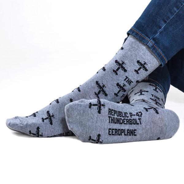 letecké ponožky P-47 Thunderbolt