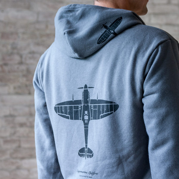 Mikina s letadlem Spitfire