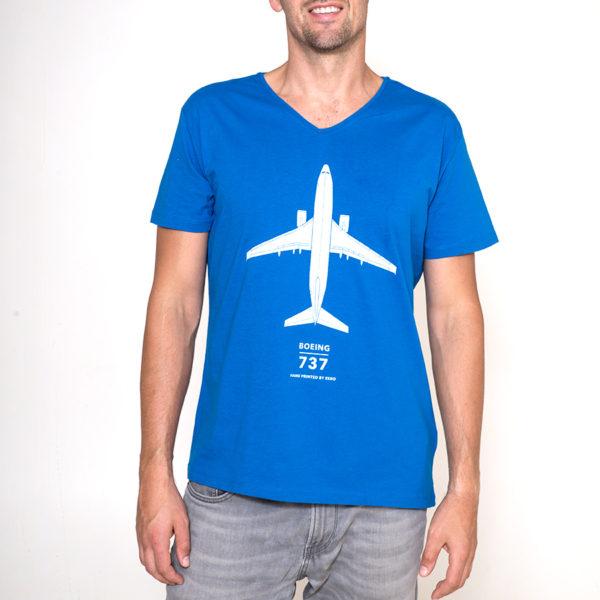 tričko s letadlem Boeing 737-800
