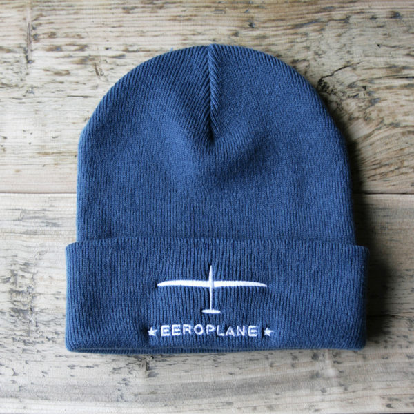 Kulich pro pilota kluzáku - modrá ocel- Eeroplane