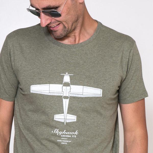 tričko s letadlem Cessna 172 Skyhawk