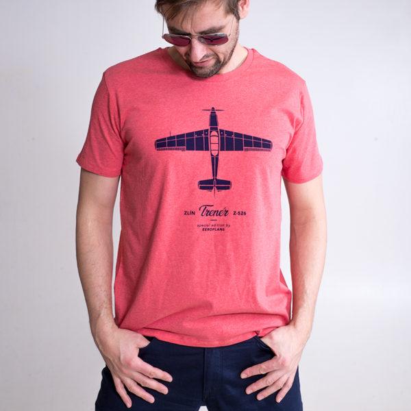 tričko s letadlem Zlín Z-526 Trenér
