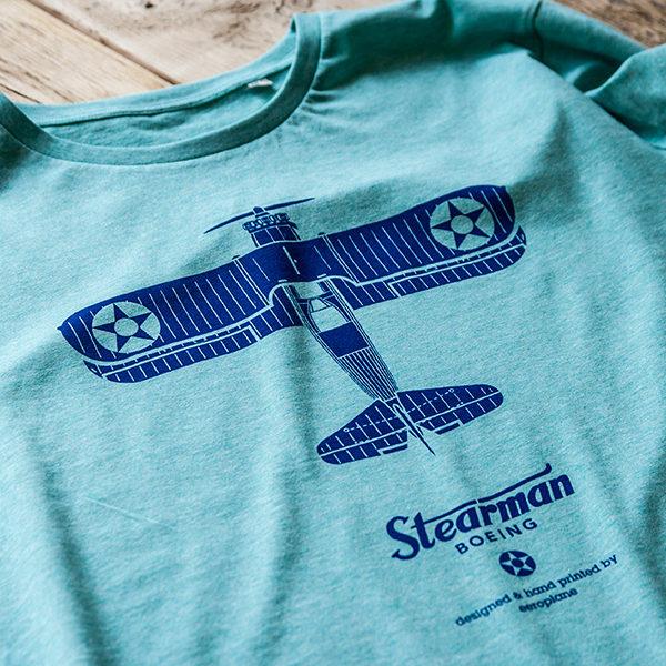 Boeing Stearman tričko pro pilota Eeroplane