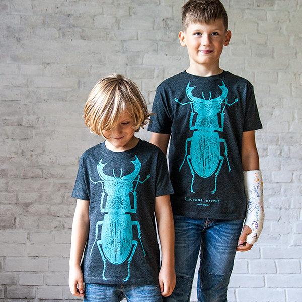 dětské tričko s broukem Roháčem - Lucie Tatarová