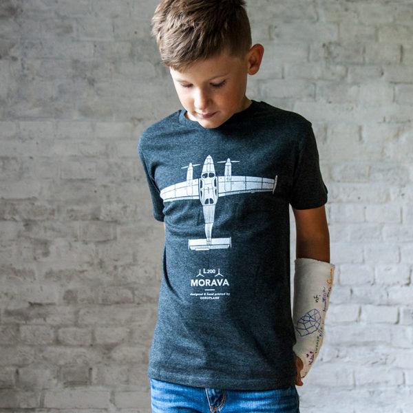 dětské tričko s letadlem Let L200 Morava - Eeroplane