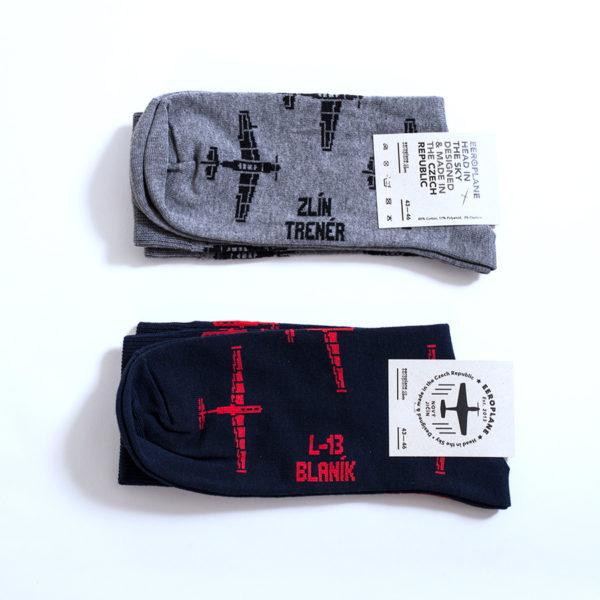 ponožky pro pilota L-13 Blaník a Zlín Trenér