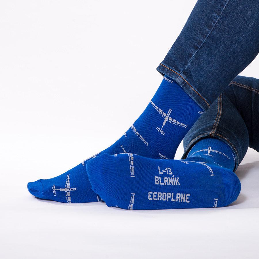letecké ponožky s kluzákem L-13 Blaník od Eeroplane