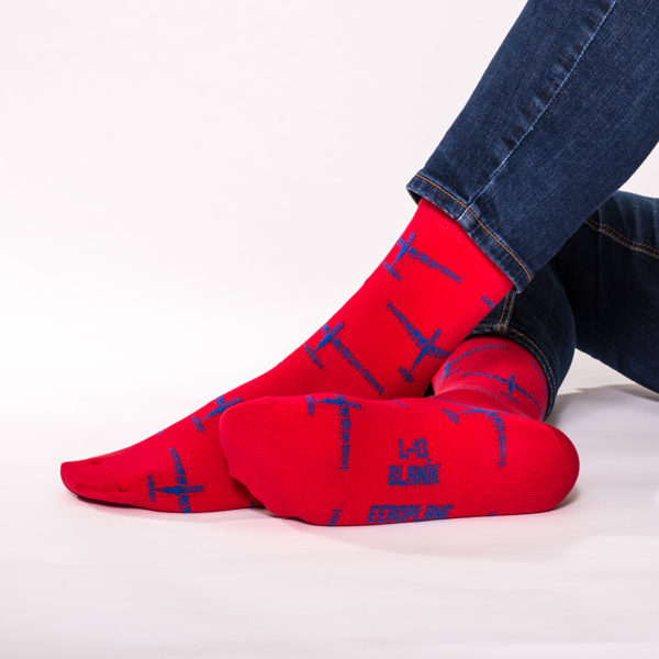 ponožky s kluzákem L-13 Blaník od Eeroplane