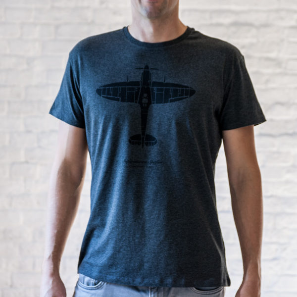 Spitfire tričko pro pilota Eeroplane