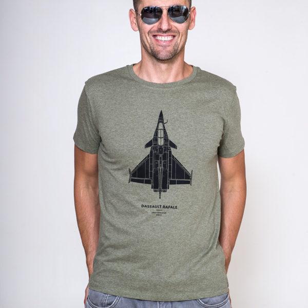 tričko se stíhačkou Dassault Rafale od Eeroplane