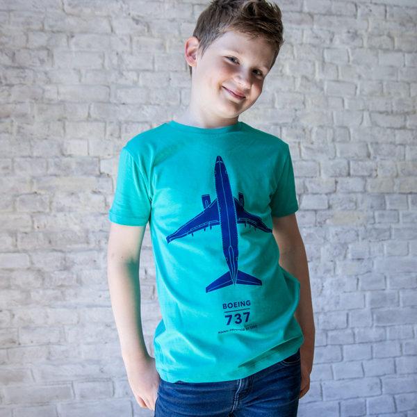 Boeing 737-800 dětské tričko