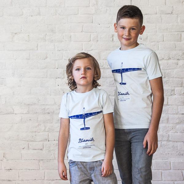 dětské tričko s kluzákem L-13 Blaník od Eeroplane