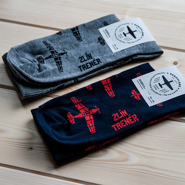 ponožky pro pilota Zlín Trenér od Eeroplane