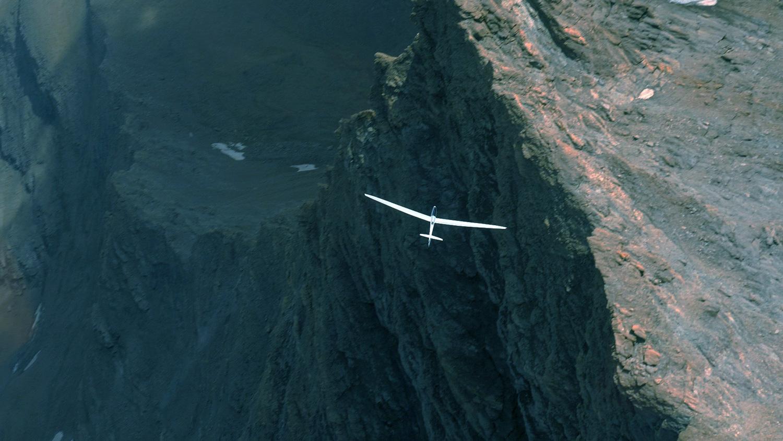 Stefan Langer plachtění ve francouzských Alpách