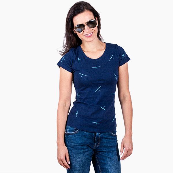 dámské tričko s kluzáky Eeroplane