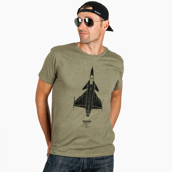 JAS-39 Gripen tričko Eeroplane